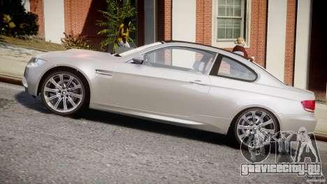 BMW M3 E92 для GTA 4 вид слева