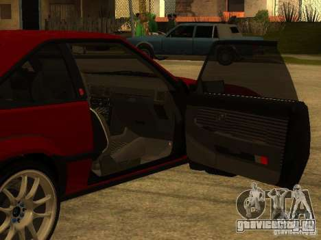 Toyota Celica Supra для GTA San Andreas салон