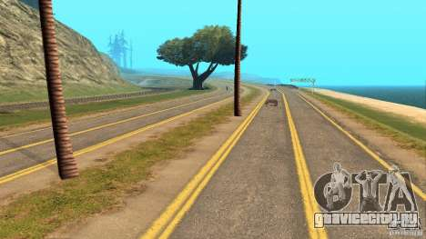 New HQ Roads для GTA San Andreas четвёртый скриншот