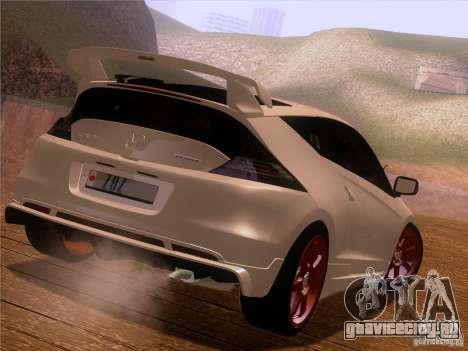 Honda CR-Z Mugen 2011 V2.0 для GTA San Andreas вид сбоку