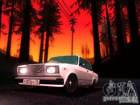 ВАЗ 2107 Lambo для GTA San Andreas