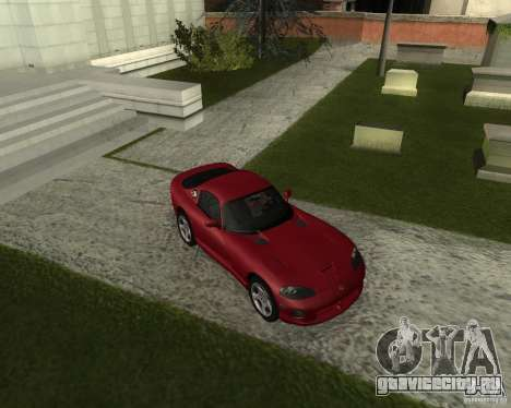 Dodge Viper GTS Coupe для GTA San Andreas вид слева