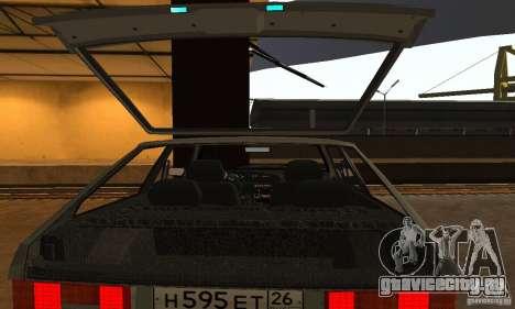 Ваз 2113 Люкс v.1.0 для GTA San Andreas вид снизу