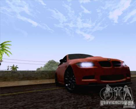 BMW M3 GT-S Fixed Edition для GTA San Andreas вид справа