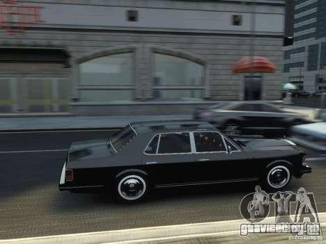Rolls-Royce Silver Spirit 1990 для GTA 4 вид справа