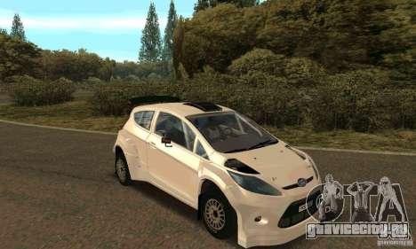 Ford Fiesta Rally для GTA San Andreas двигатель