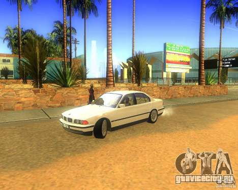 BMW 735i для GTA San Andreas
