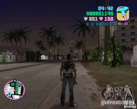 Одежда банды Версетти для GTA Vice City пятый скриншот