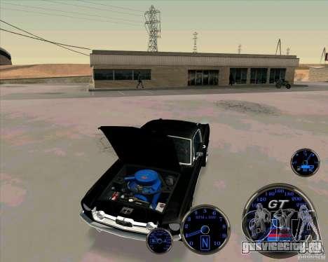 Ford Mustang Fastback для GTA San Andreas вид справа