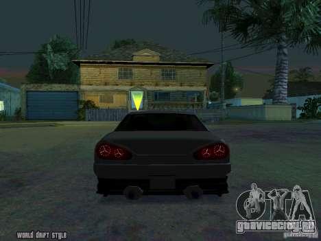 ELEGY BY CREDDY для GTA San Andreas вид сзади слева