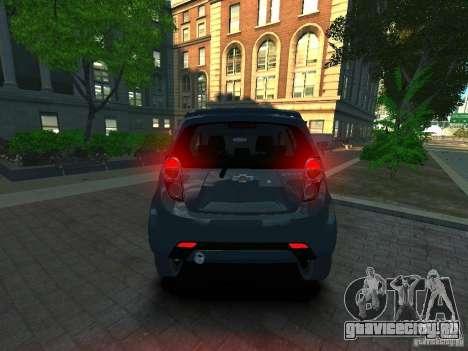 Chevrolet Spark для GTA 4 вид сзади слева