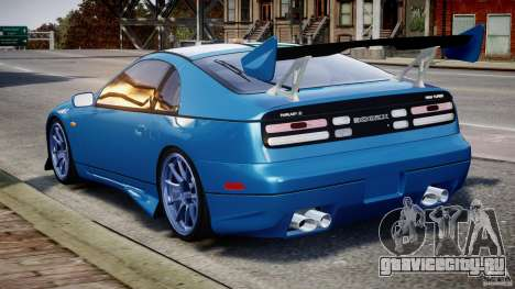 Nissan 300 ZX 1994 v1.0 для GTA 4 двигатель