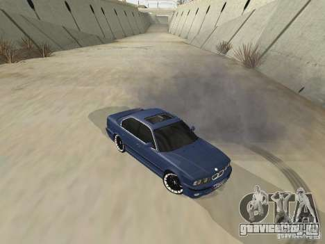 BMW M5 E34 V2.0 для GTA San Andreas вид слева