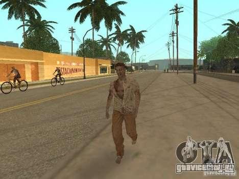Зомби для GTA San Andreas четвёртый скриншот