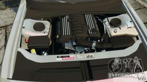 Dodge Challenger SRT8 392 2012 для GTA 4 вид сверху