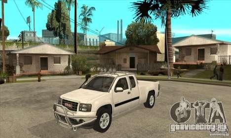 GMC Sierra для GTA San Andreas
