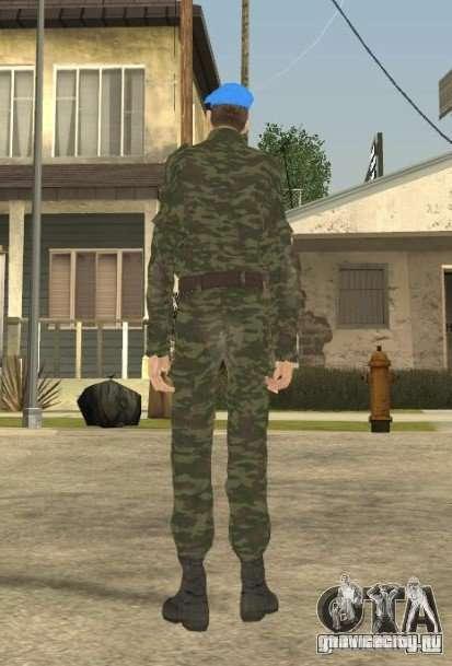 ВДВшник для GTA San Andreas третий скриншот