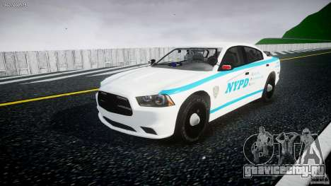Dodge Charger NYPD 2012 [ELS] для GTA 4