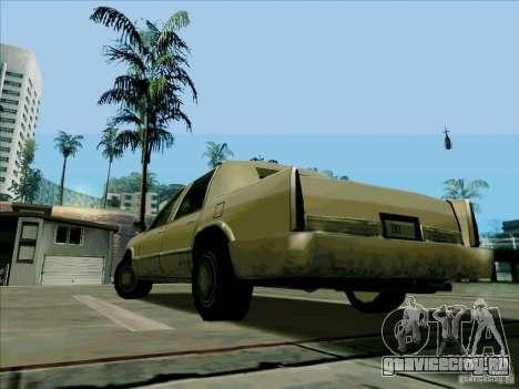Короткий Лимузин для GTA San Andreas вид сзади слева