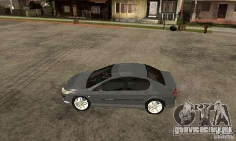 Peugeot 407 для GTA San Andreas вид слева