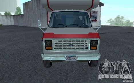 1986 Ford Econoline для GTA San Andreas вид слева