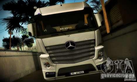 Mercedes-Benz Actros 2012 для GTA San Andreas вид сзади