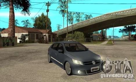 Volkswagen Gol G5 для GTA San Andreas вид сзади