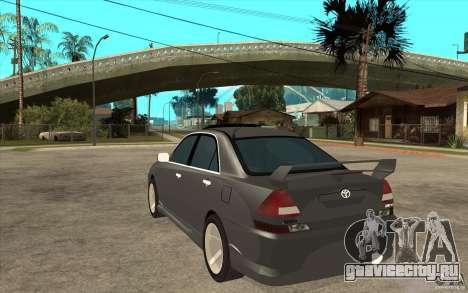TOYOTA MARK II RY для GTA San Andreas вид сзади слева