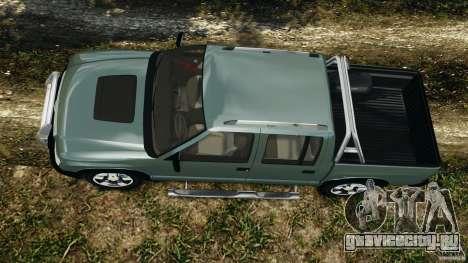 Chevrolet S-10 Colinas Cabine Dupla для GTA 4 вид справа
