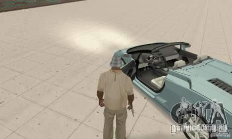 Lamborghini Gallardo Spyder для GTA San Andreas вид сзади