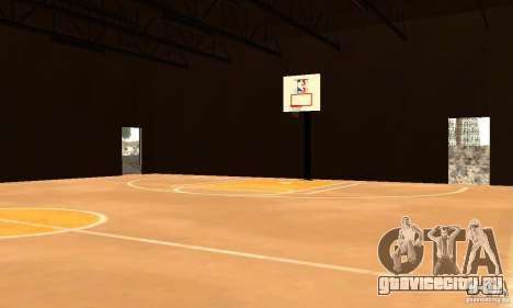 Basketball Court v6.0 для GTA San Andreas
