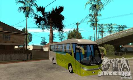 Marcopolo Viaggio G7 1050 Santur для GTA San Andreas вид сзади