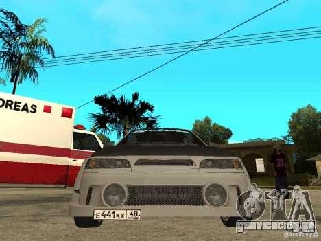 ВАЗ 2110 WRC 2.0 для GTA San Andreas вид справа