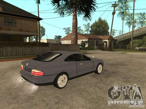 Mercedes-Benz CLK320 Coupe для GTA San Andreas вид справа