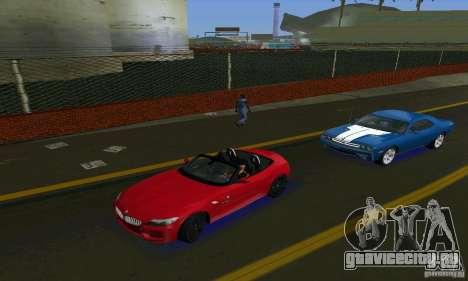 BMW Z4 V10 2011 для GTA Vice City