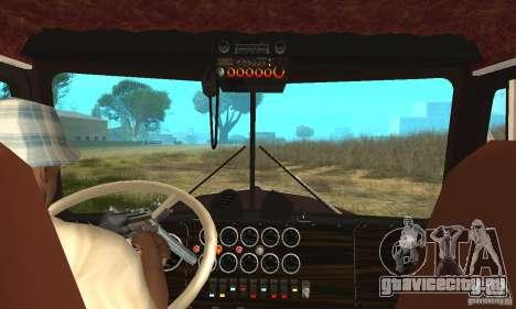 Kenworth Car Hauler для GTA San Andreas вид справа