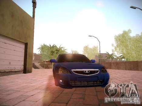 ВАЗ 2170 Лада Приора для GTA San Andreas вид изнутри