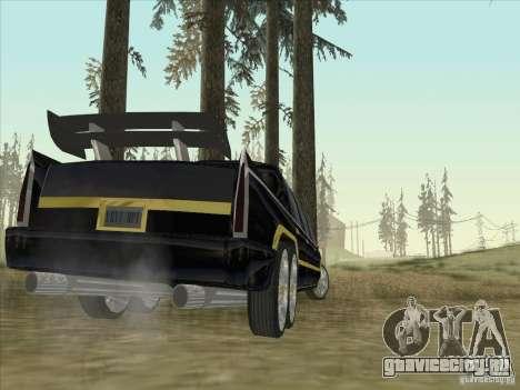 Limousine для GTA San Andreas вид сзади слева