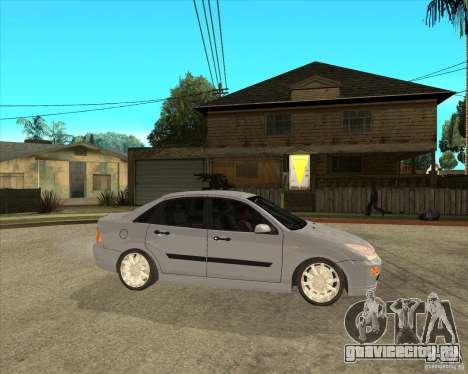 Ford Focus Sedan для GTA San Andreas вид справа
