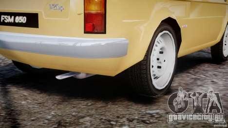 Fiat 126p 1976 для GTA 4 вид сверху