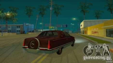 Cadillac Fleetwood 1993 для GTA San Andreas вид сзади слева