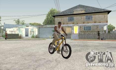Downhill Bike для GTA San Andreas вид слева