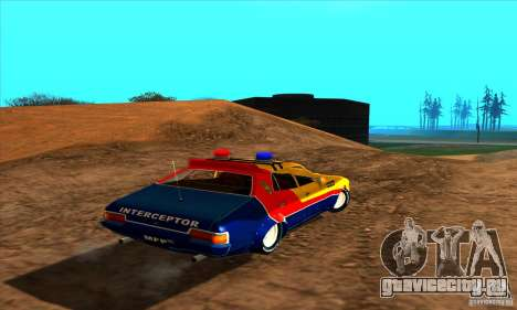 Ford Falcon 351 GT Interceptor Mad Max для GTA San Andreas вид слева