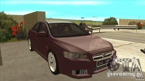 Proton Inspira v1 для GTA San Andreas вид сзади
