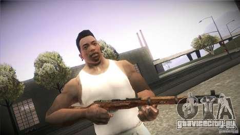 Weapon Pack by GVC Team для GTA San Andreas девятый скриншот