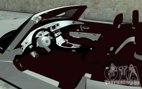 BMW Z8 для GTA San Andreas вид изнутри