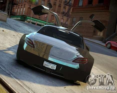 Mercedes SLS Extreme для GTA 4 вид сбоку