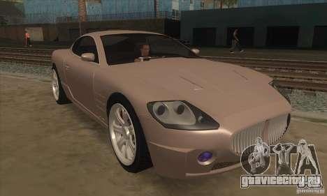 GTA IV F620 для GTA San Andreas вид сзади