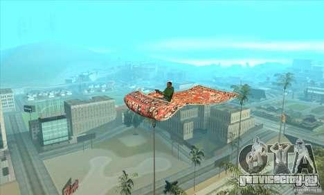 Flying Carpet v.1.1 для GTA San Andreas вид сзади слева