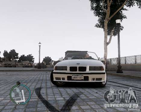 BMW M3 e36 1997 Cabriolet для GTA 4